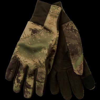 Härkila Lynx Fleece Handske - AXIS MSP® Forest Green