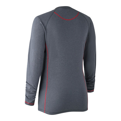 Deerhunter Lady Hazel L/S T-shirt -Iron Melange
