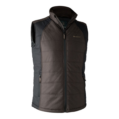 Deerhunter Moss Paddad Vest -Brown Leaf