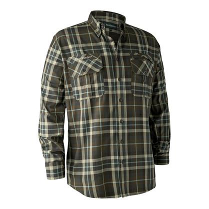 Deerhunter Caribou Skjorte -Green Checkered