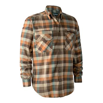Deerhunter James Shirt - Brown Check