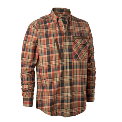 Deerhunter Hector Shirt -Orange Check