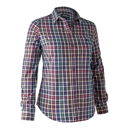 Deerhunter Lady Victoria Shirt -Brown Check