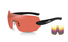 Wiley X - DETECTION Clear/Yellow/Orange/ Purple/Copper Matte(5 Glas)