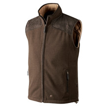 Seeland William Fleece Vest Brun