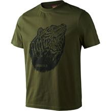 Härkila Fjal T-Shirt, Oliven