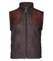 Seeland William II vest - Moose Brown