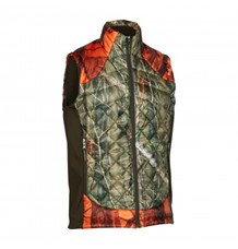 Deerhunter Cumberland Quiltet Vest -Orange Camo