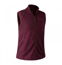 Deerhunter Wingshooter Fleece Vest -Burgundy