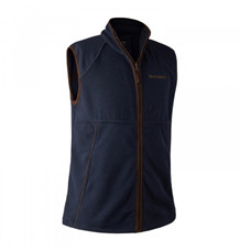 Deerhunter Wingshooter Fleece Vest -Graphite Blue