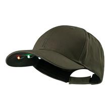 Deerhunter Kasket med LED Lys -Bark Green