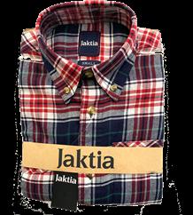 JAKTIA FLANNELSKJORTE -  WHITE RED