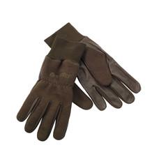 Deerhunter Fleece handske m/læder