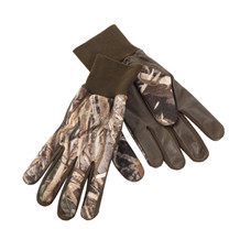 Deerhunter Fleece handsker  m.læder