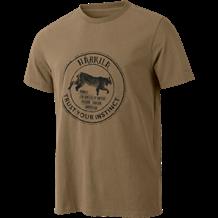 Härkila Wildlife Lynx T-shirt - Khaki