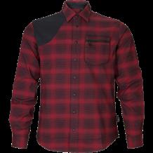 SEELAND Terrain Skjorte - Red Check