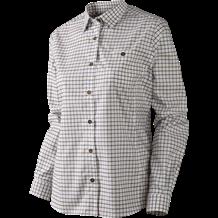 Härkila Lancaster Lady L/S Skjorte - Blackberry Check