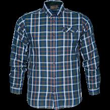 Seeland Gibson Skjorte - Carbon Blue Check
