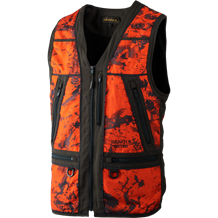 Härkila Lynx Safety vest -Orange Camo