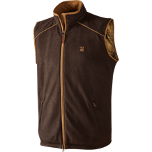 Härkila Sandhem fleece vest -Dark Port Melange