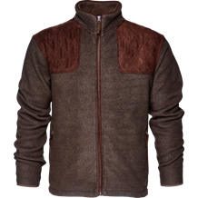 Seeland William II Fleece - Moose Brown