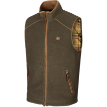 Härkila Sandhem fleece vest -Willow Green Melange