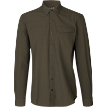 SEELAND Hawker skjorte -Pine green