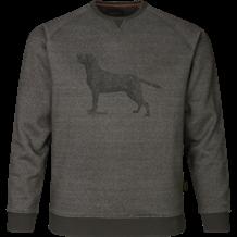 SEELAND Key-point Sweatshirt -Grey Melange