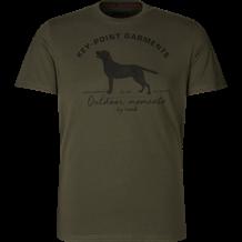 SEELAND Key-point T-Shirt -Pine Green