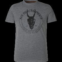 SEELAND Key-point T-Shirt -Grey melange