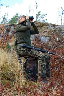 Mjølner Hunting Rygsækstol foldbar