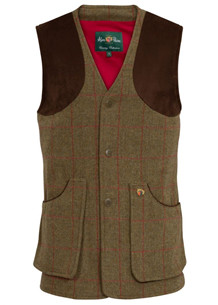Alan Paine Combrook Tweed Vest