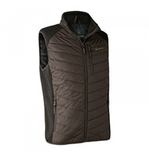 Deerhunter Moor Vatteret Vest m. Strik -Brown Leaf