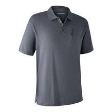 Deerhunter Larch Polo Shirt -Iron Melange