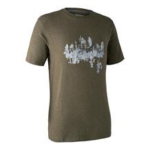 Deerhunter Ceder T-shirt -Green Melange