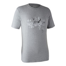 Deerhunter Ceder T-shirt -Grey Melange