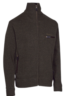 DEERHUNTER KENDAL KNIT CARDIGAN -Dark elm