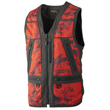 Härkila Lynx Safety vest - Red Blaze