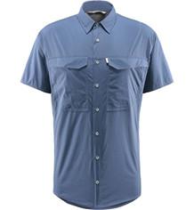Haglöfs Salo S/S skjorte - Tarn Blue