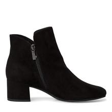 Tamaris - Damestøvle med hæl - Sort