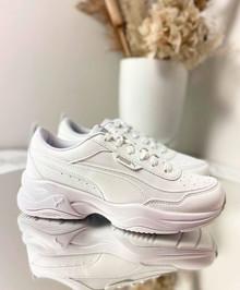 PUMA Cilia - Sneakers - Dame - Hvid