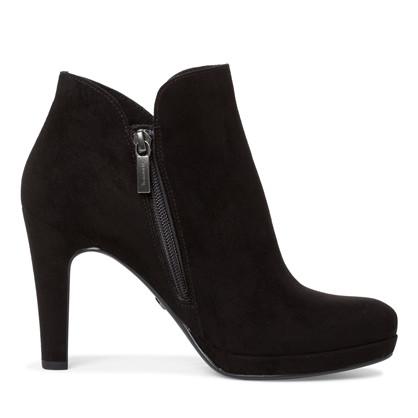 Tamaris - Dame - Støvle med hæl - Sort