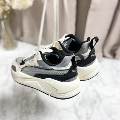 PUMA X-Ray - Sneakers - Unisex - Hvid/Sort/Grå