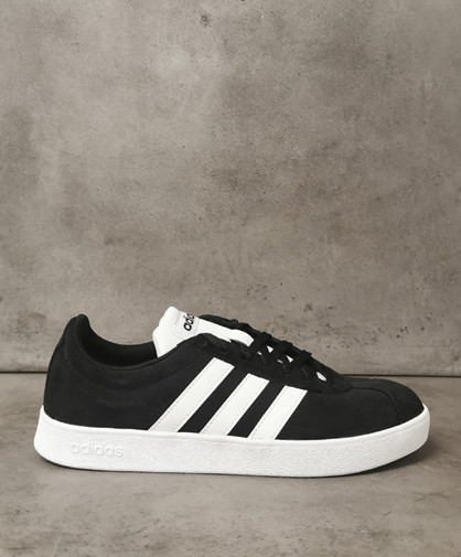 ADIDAS VL COURT 2.0 SKO - Sneakers - Dame - Sort