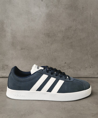 ADIDAS VL Court 2.0 - Sneakers - Dame - Navy