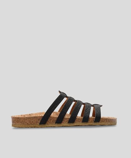 PB.CPH LEILANI - kork sandal - Dame - Sort