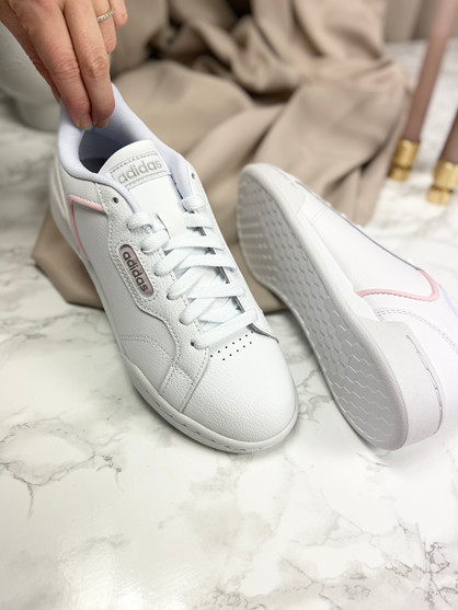 ADIDAS ROGUERA - Sneakers - Dame - Hvid/lyserød