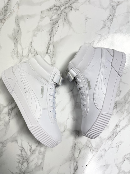 PUMA Carina Mid - Sneakers - Dame - Hvid