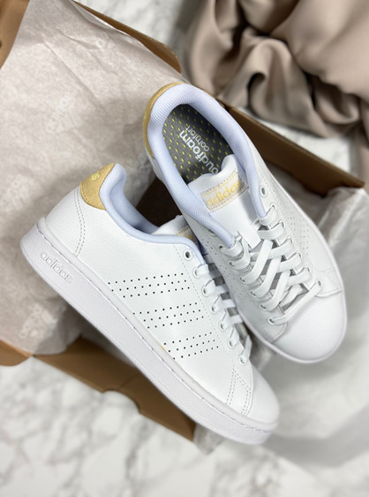 ADIDAS Advantage - Sneakers - Dame - Hvid
