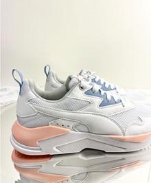 Puma Ray Lite - Sneakers - Dame - hvid/peach